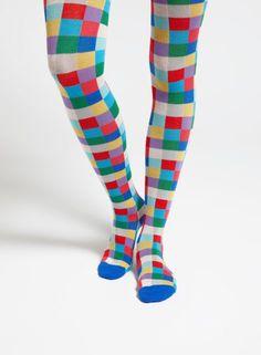 Ruta-sukkahousut (sininen, punainen, vihreä)  Asusteet, Sukat ja sukkahousut, Laukut & asusteet   Marimekko