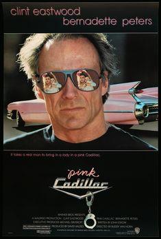 Clint Eastwood, Eastwood Movies, Cadillac Rosa, Pink Cadillac, Reflective Sunglasses, Mirrored Sunglasses, Mens Sunglasses, Bernadette Peters, Nostalgia