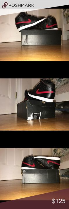 Jordan 1 MID size 11.5 Its a little big if you have a feet size 10.5 but 11 will fit Air Jordan Shoes Sneakers