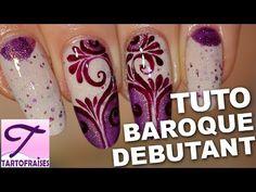 Tuto nail art arabesque baroque facile (+playlist)