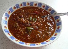Tvp Taco Chili High Protein Recipes, Protein Foods, Low Carb Recipes, Tvp Recipes, Chili Recipes, Taco Chili, No Bean Chili, Vegetable Protein, Stuffed Jalapeno Peppers