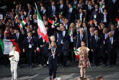 #EmporioArmani per le #divise dell'Italia #Olimpiadi #Londra2012