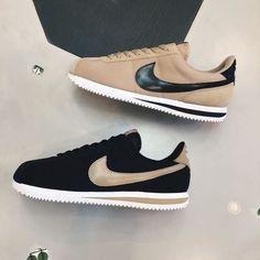 Nike Cortez Basic Premium by sneakersnstuff_paris Women's Shoes, Me Too Shoes, Shoe Boots, Shoes Sneakers, Shoes Men, Tenis Casual, Casual Shoes, Nike Free Shoes, Nike Shoes