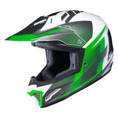 HJC Helmets Unisex-Child Off-Road Style CL-XY II Bator Youth Offroad Helmet Grey//Black X-Large