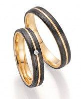 Trauringe Fischer Carbon Gold 22 01340/040 -> 1.121 €