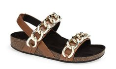 flat sandals| big chain| mother's day