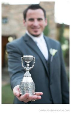 Our wedding cup- German tradition