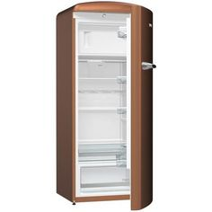 Buy Gorenje Retro Freestanding Fridge With Freezer Box - - Right Hand - Copper from Appliances Direct - the UK's leading online appliance specialist Copper Appliances, Vintage Appliances, Home Appliances, Freestanding Fridge, Orthodontic Appliances, Appliance Cabinet, Furniture Cleaner, Vintage Stoves, 60 Kg