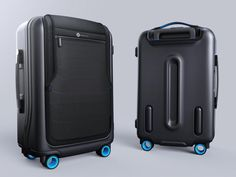 GPS tracking and proximity alarms are just two of the tech features stuffed into the Bluesmart smart carry-on suitcase on Indiegogo.