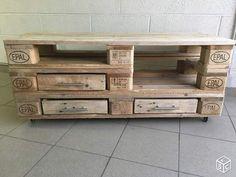 1000 id es sur le th me meuble tv palette sur pinterest - Taille d une palette europe ...