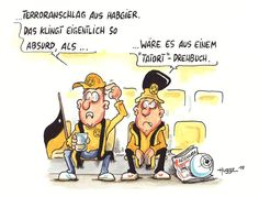 Karikatur des Tages 21.04.17 | HUBBE Cartoons