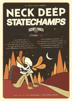 Neck Deep State Champs Sidelines
