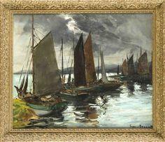 Eugen Dekkert (1865-1956), Maler aus Stettin, Studium an der Akademie München…