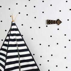 Black Dots wall sticker by Tresxics