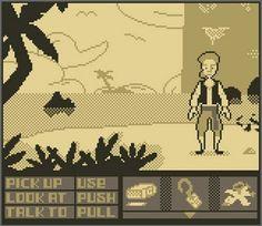 Monkey Island Game Boy