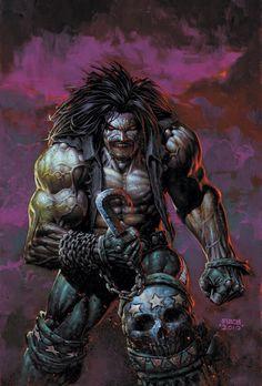 Lobo (DC Comics) Lobo é o último Czarniano, isso porque ele dizimou toda a sua raça. O personagem é capaz de se regenerar de uma única gota de sangue, além do fato de que ele foi banido tanto do céu como do inferno; Condenado a vida eterna.