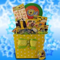 ~~ #SpongeBob #Easter #GiftBaskets for Children  ~~