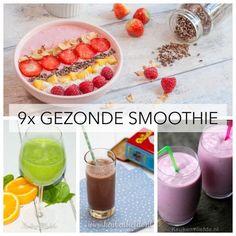 Volwassenen krijgen van de Schijf van Vijf van het Voedingscentrum het advies om 2 stuks fruit per dag te eten. Met deze smoothies is dat geen probleem!