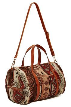 Dusty Roads Duffel Bag at Nasty Gal Check out these useful duffel bags