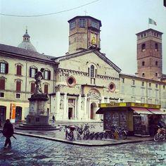 Piazza Prampolini, #ReggioEmilia by cittàdiReggioEmilia