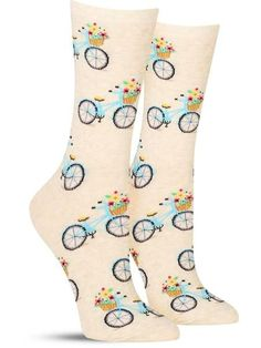 Women Men Seahorse And Starfish Pattern Cushion Ankle Socks