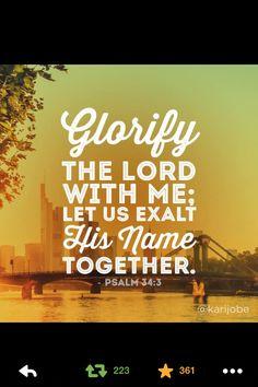 Praising God is what I do