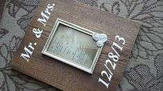 Hey, I found this really awesome Etsy listing at https://www.etsy.com/listing/174123279/custom-wedding-frame-photo-holder