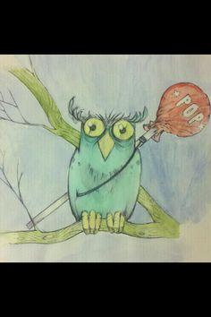 Lollipop owl