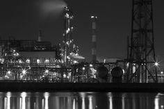 工場夜景 -川崎-