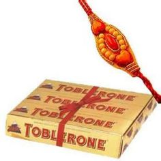 This Beautiful Combo of Toblerone & Rakhi On this Rakshabandan from Shop2Hyderabad.