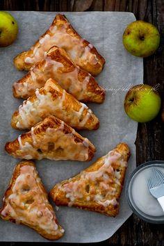 Rożki francuskie z jabłkami