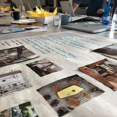 Der Marke ihr Zuhause geben. 💡🏡🎨 #kreativworkshop am Übergang von der #markenstrategie zur #designentwicklung.  . #workshopday #getcreative #branddevelopment #brandingprocess #designmood #brandtonality #sensorycode #shapesandcolors #brandmaterials #brandtextures #brandenvironment #branddesign #strategicbranding #solididentities #brandingagency #getinspired #inlovewithwhatwedo Workshop, News, Design, Ad Home, Creative, Atelier, Design Comics
