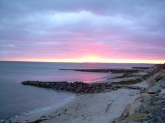 I miss my weekend morning walks here - Old Wharf Beach Dennisport Cape Cod