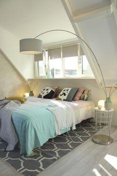 Slaapkamer | Bedroom ✭ Ontwerp | Design Marijke Schipper