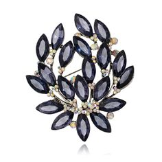 NEW Fashion acrylic brooch pins flower for wedding dress luxurious pins and  and brooches for women 2017 flower brooch jewelry 16f308592155