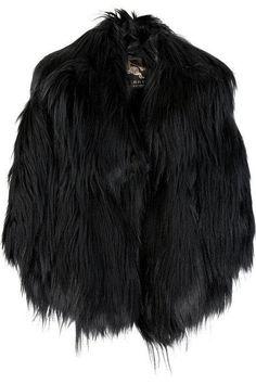Black furry