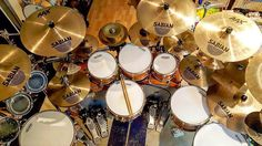 Sabian fans out there?  Featured  @spazdrums  #drum#drums#drummer#drummerboy#drumset#drumkit#drumporn#drumline#drummergirl#recordingstudio#musico#baterista#instadrum#drumming#percussion#percussionist#drumsoutlet#tama#DWdrums#ludwig#sjcdrums#gretsch#Bateria#pearldrums#drumlife#drumdrumdrum#sessiondrummer#drumsticks by drumset_up