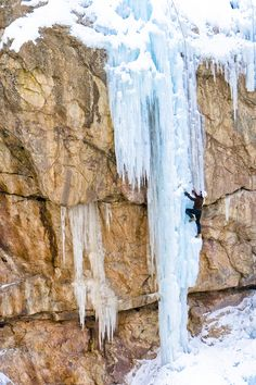 www.boulderingonline.pl Rock climbing and bouldering pictures and news Ice Climbing via Col