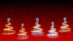 Christmas Trees Background 21 (HD)