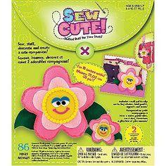 Westrim Sew Cute Flower Craft Box Kit