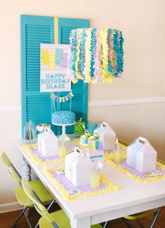 Playful Monsters University Themed Party