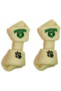 #Baylor rawhide dog bone for your Bruiser, Griffin or Judge (or Rex, Fido or Spot)! #SicEm ($9.95 at Baylor Bookstore)