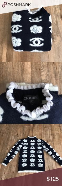 Kids Coco Chanel Sweater Coco Chanel CHANEL Shirts & Tops Sweaters