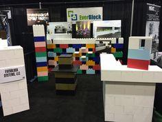 #TradeShow #Booth #DIY #Display #Kiosk #Eventfurniture #modular #buildit #EverBlockSystems
