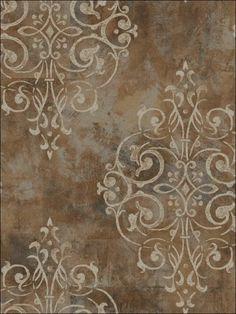 wallpaperstogo.com WTG-116896 Astek Transitional Wallpaper