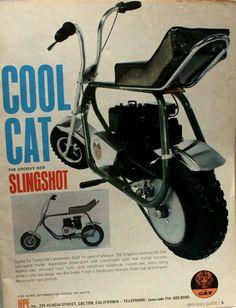 CAT Slingshot Minibike