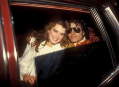 """Brooke Shields and Michael Jackson  Happy 50th Birthday Brooke! (May 30, 2015)  Michael Jackson escorted Shields to many events, including the 1984 American Music Awards, after Brooke's mom set up the two. However, Shields revealed in her 2014 memoir, There Was a Little Girl, that their relationship was strictly platonic. """"From the day we met, we saw something of ourselves in each other,"""" she told People when the book was released. """"We felt really safe. Together, we felt impervious to the…"""