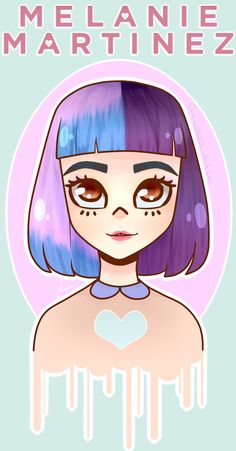 Melanie Martinez by Carolina1358.deviantart.com on @DeviantArt
