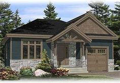 Small Escape with Options - 90202PD   Architectural Designs - House Plans