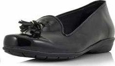Γυναικεία Δερμάτινα Παπούτσια slip-on PA159204 - ΜΑΥΡΟ